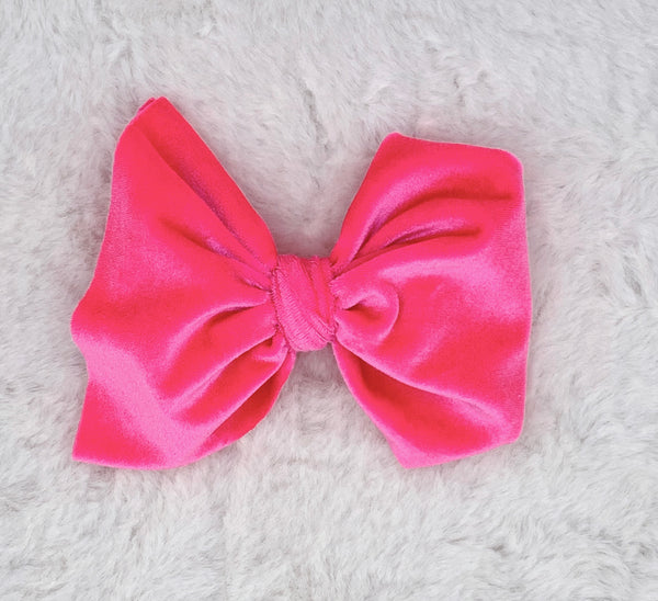 Monogram Big Bow on Nude Nylon