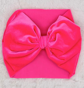 Monogram Headwrap-Velvet