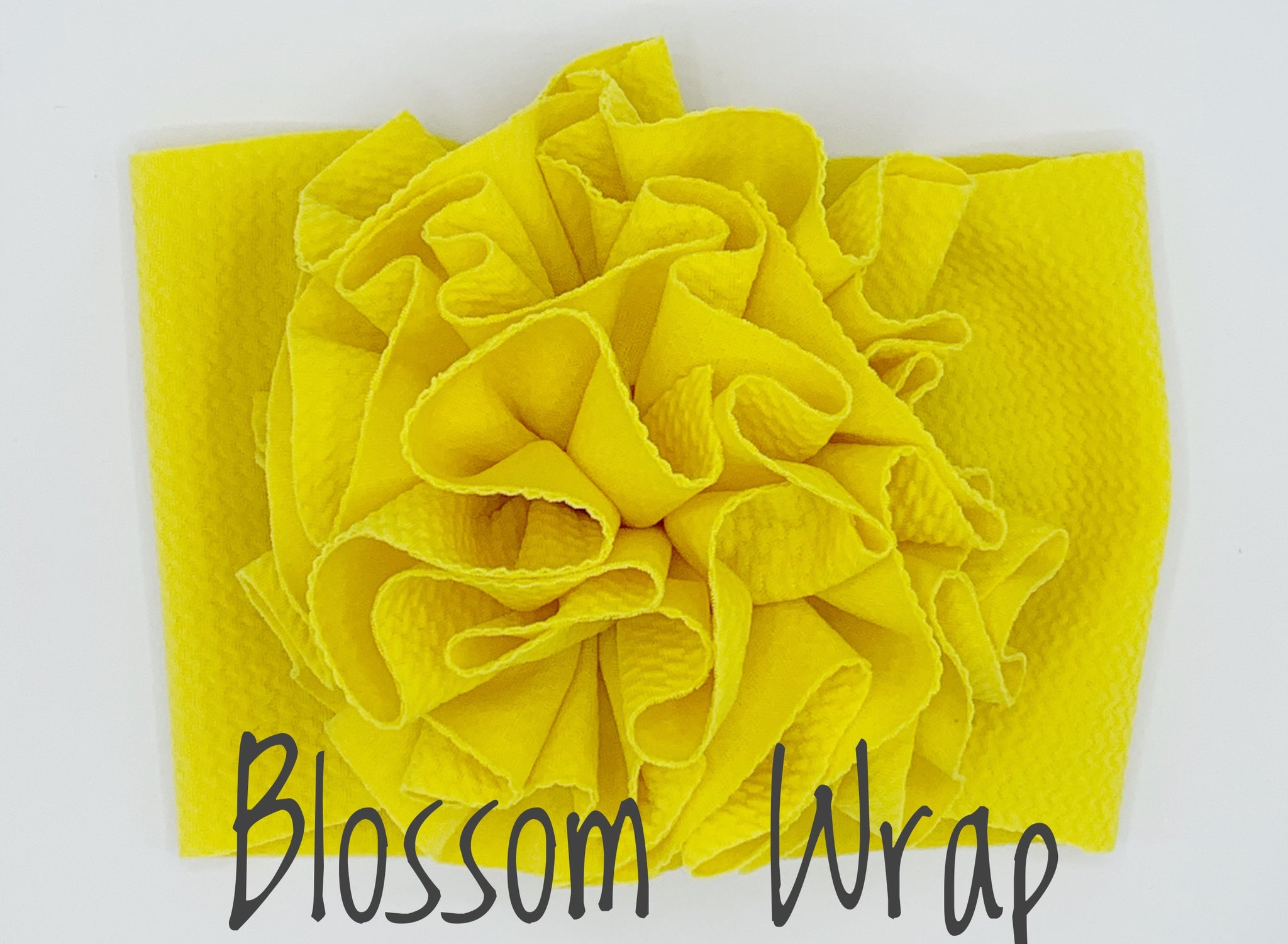 Solid Colors-Blossom Wrap