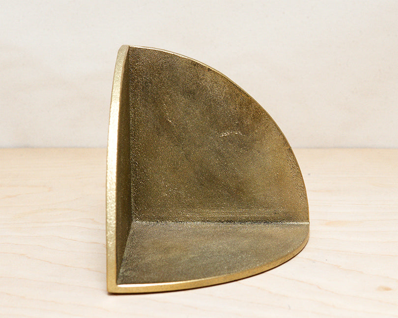 Brass Book End