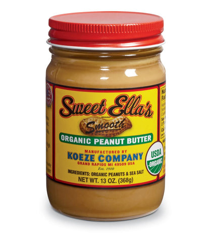 Smooth Organic Peanut Butter