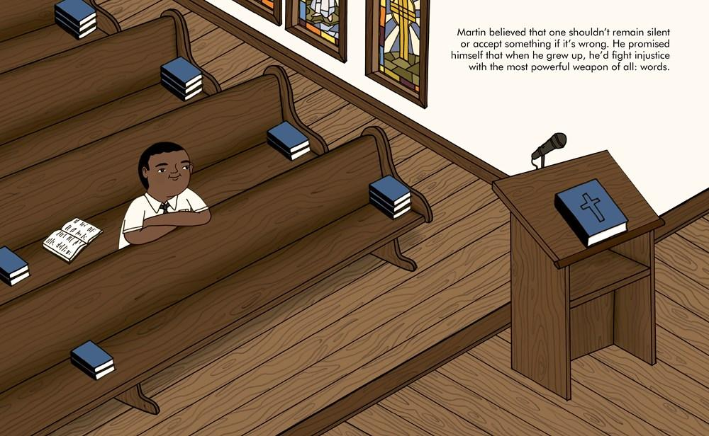 Martin Luther King Jr. - Little People, Big Dreams Book