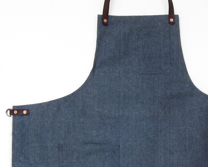 Deluxe Apron - Light Blue