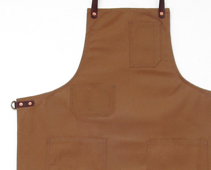 Deluxe Apron - Caramel