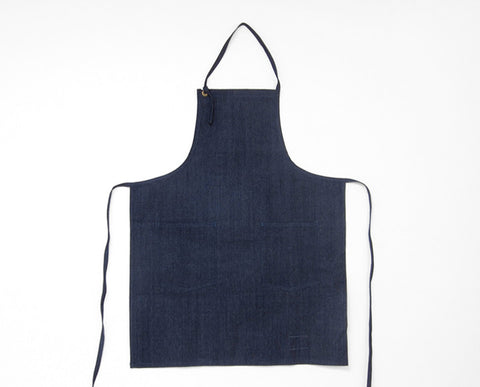 Cloth Strap Apron - Chambray