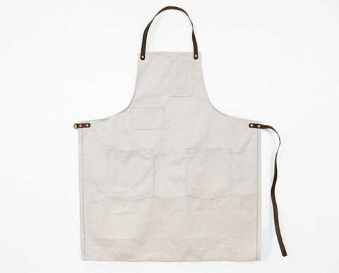 Deluxe Apron - Natural