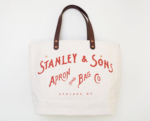 Small Logo Tote - Red