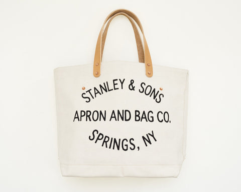Small Circle Logo Tote