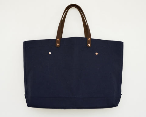 Canvas Tote - Navy