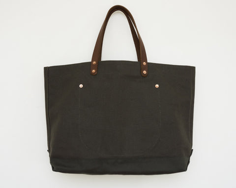 Canvas Tote - Olive