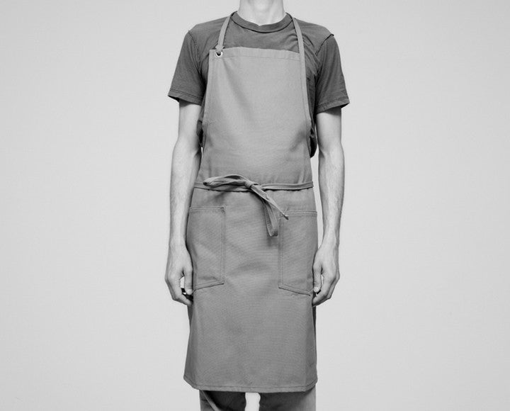 Cloth Strap Apron - Denim