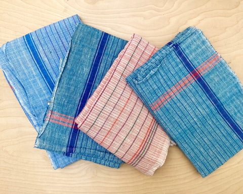 Cotton Pinstripe Towel
