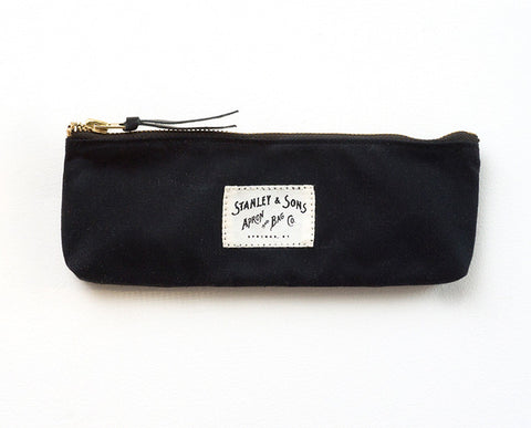 Pencil Zip Pouch - Black