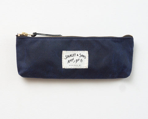 Pencil Zip Pouch - Navy