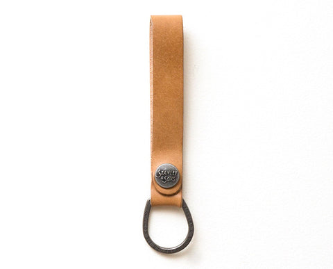 Snap Key Fob - Natural