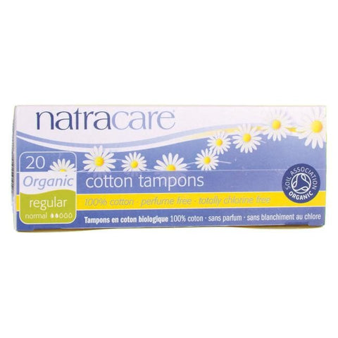Natracare Tampons, Regular, 20ct