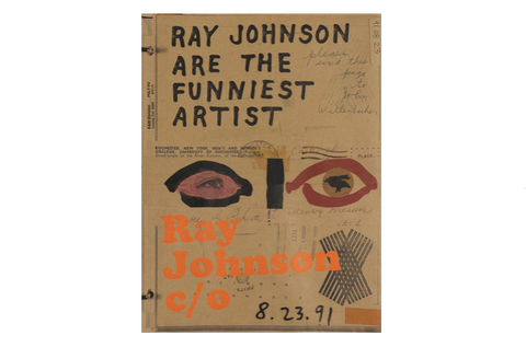 Ray Johnson C/o Book