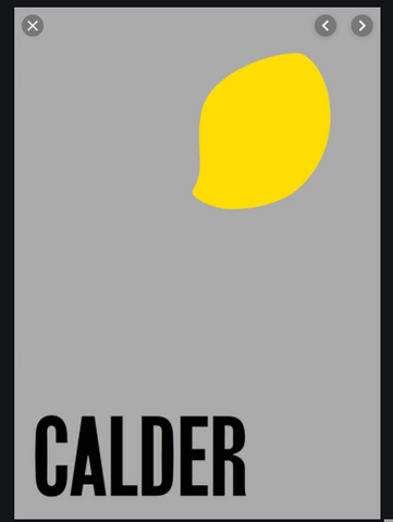 Alexander Calder: From the Stony River Book
