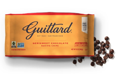 Guittard Semi-Sweet Chocolate Chips - 12oz