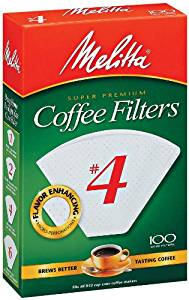 Melitta #4 Paper Filters - 100ct