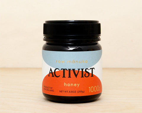 Activist Raw Mānuka Honey 1000+ MGO Limited Edition