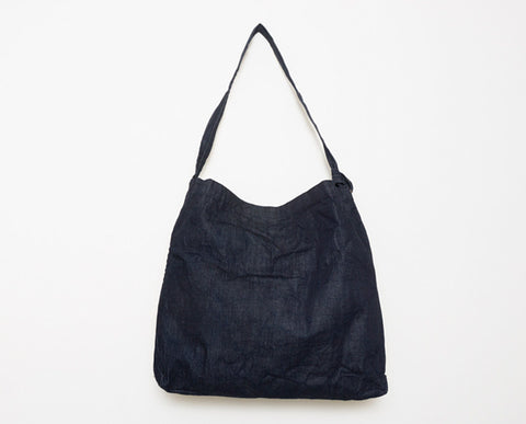 Market Shoulder Bag - Denim