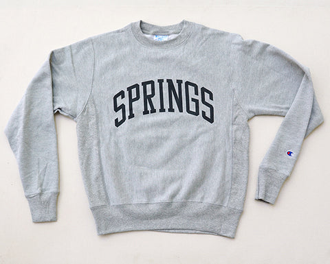 Springs Crewneck Sweatshirt - Grey