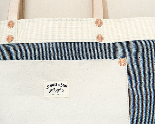 23oz Selvage Denim Tote