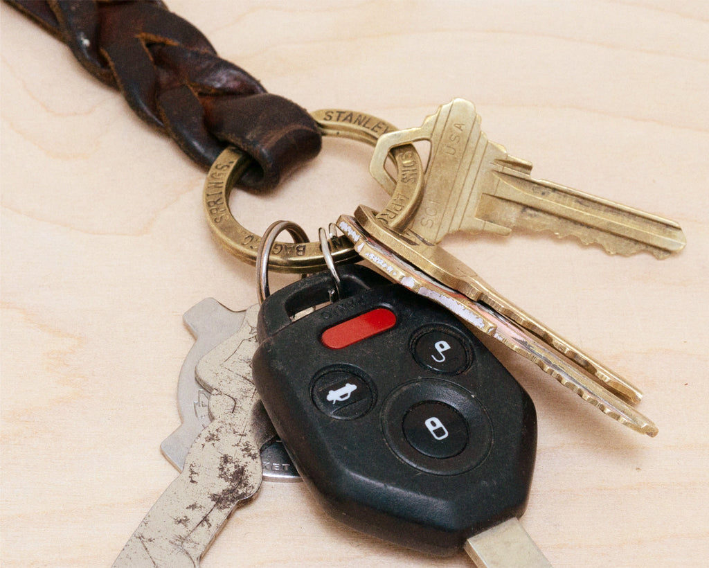 Braided Key Fob - Natural