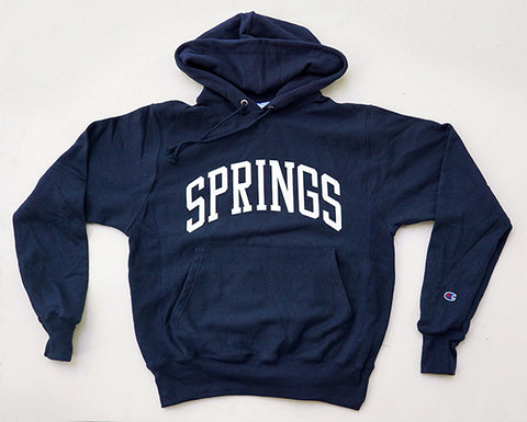 Springs Hooded Sweatshirt - Navy