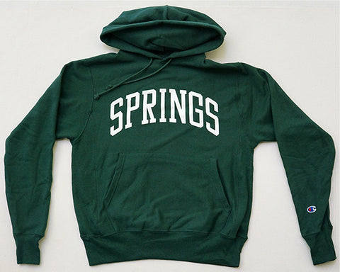 Springs Hooded Sweatshirt - Green