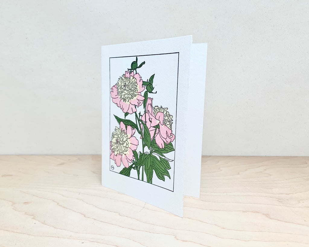 Letter Press Greeting Card