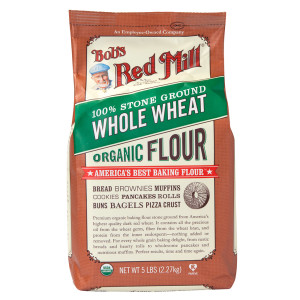 Organic Whole Wheat Flour, 5lb.