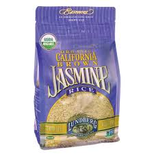 Organic Jasmine Brown Rice, 2lb