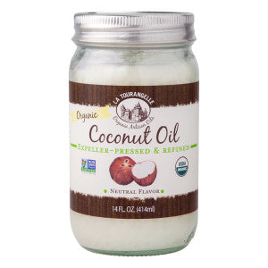Coconut Oil, Organic, Unrefined