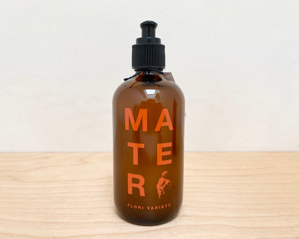 Mater Hand & Body Soap, 8oz Glass bottle