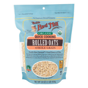 Organic Quick Cooking Rolled Oats