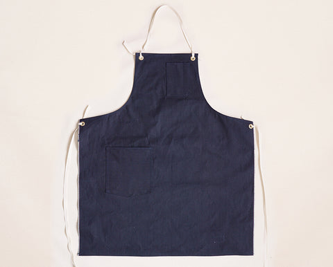 Cloth Strap Standard Apron - Indigo Selvage Duck Cloth