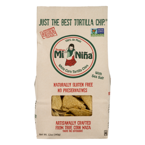 White Corn Tortilla Chip w/ Sea Salt