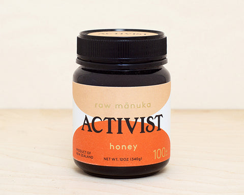 Activist Raw Mānuka Honey 100+ MGO