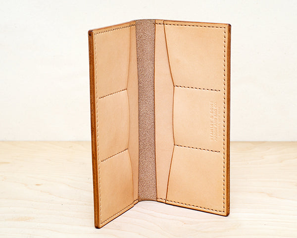 Leather Wallet - Natural