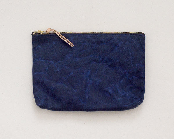 Medium Zip Pouch - Navy