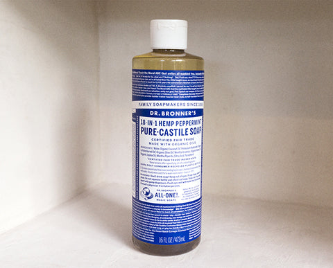 Dr. Bronner's Liquid Soap, 16fl oz.