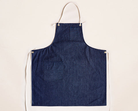 Cloth Strap Standard Apron - Selvage Denim
