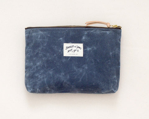 Medium Zip Pouch - Slate