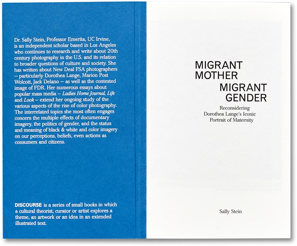 Migrant Mother, Migrant Gender Book - Sally Stein