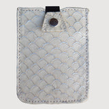 Fish Leather Credit Card Case
