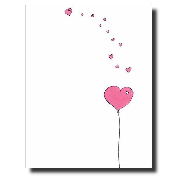Hearts Galore Greeting Card