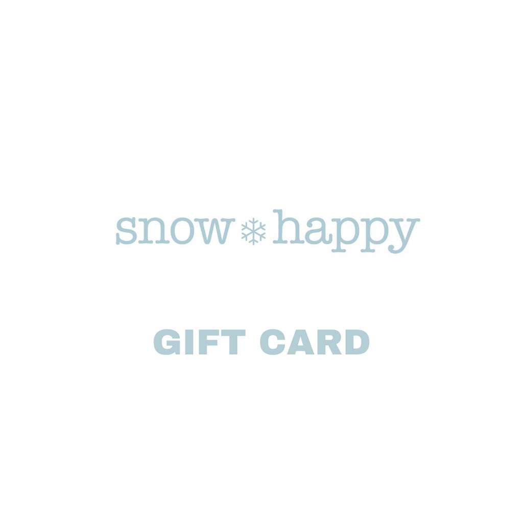 Snow Happy Canada Gift Card