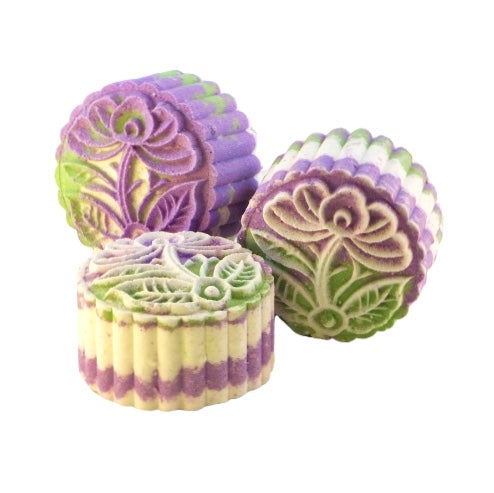 Simply Lavender Fizz Moon Cake